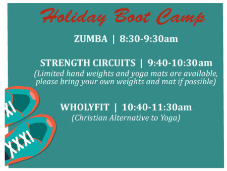 Holiday Boot Camp - Fort Collins @ Life Center at Redeemer Lutheran Church